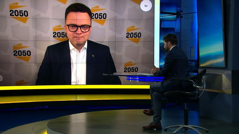 Róża Thun po rozmowach z ruchem Polska 2050? Szymon Hołownia odpowiada