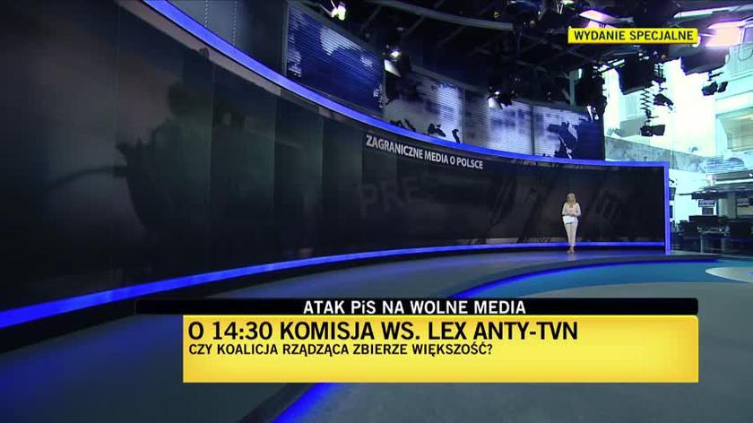 Francuskie media o lex anty-TVN i protestach w Polsce