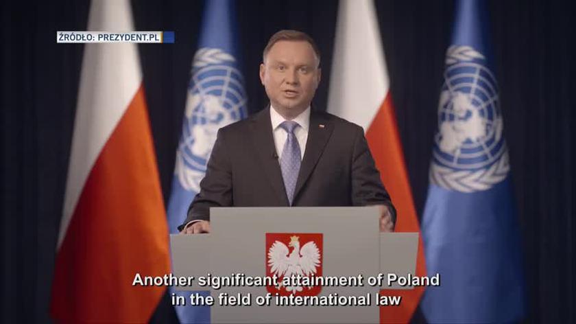 Andrzej Duda na Zgromadzeniu Ogólnym ONZ