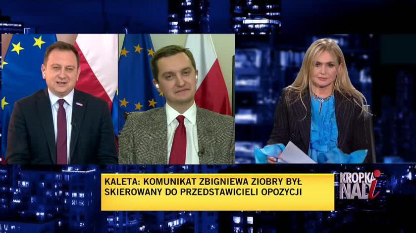 Trela: Zbigniew Ziobro i pan Jarosław Kaczyński robią wszystko, żeby oddać mecz walkowerem