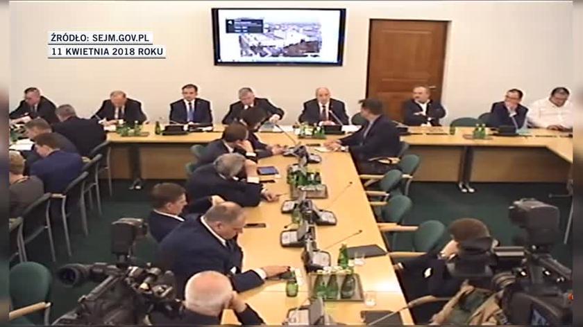 Antoni Macierewicz o budżecie podkomisji smoleńskiej w latach 2016-17. Wypowiedź z kwietnia 2018 roku