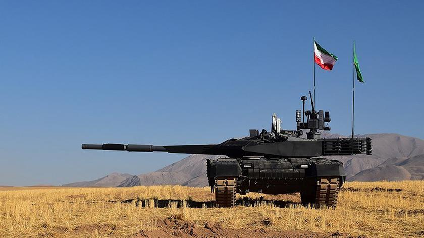 Nowy irański czołg Karrar