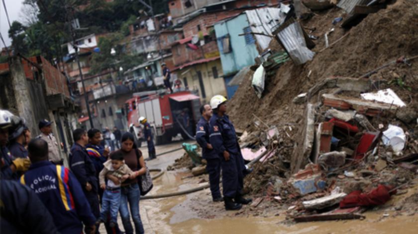 Ulewy we Wenezueli spowodowały już śmierć 40 osób