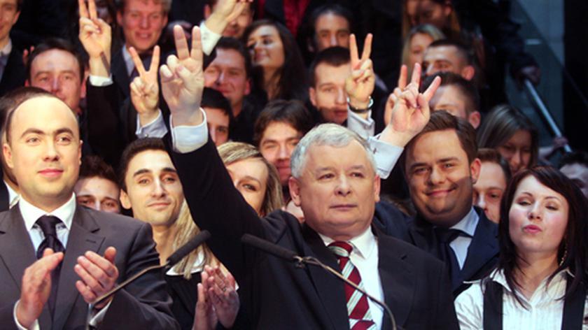 Jarosław Kaczyński na konwencji PiS poświęconej podsumowaniu rządów PO-PSL