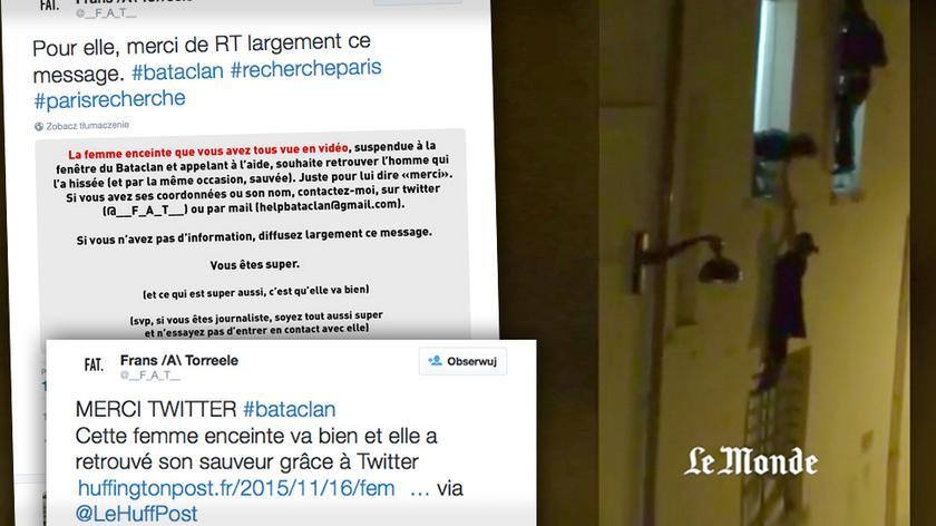 Wstrząsające nagranie francuskiego dziennikarza