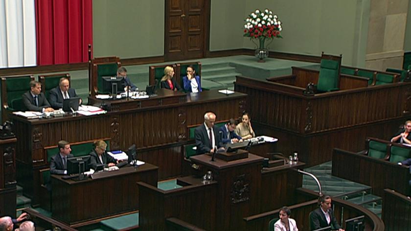 W Sejmie po południu odbędzie się pierwsze czytanie projektu