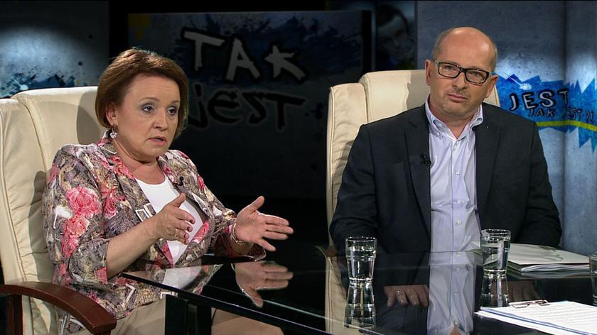 Anna Zalewska i Wojciech Cetnarski w Tak Jest
