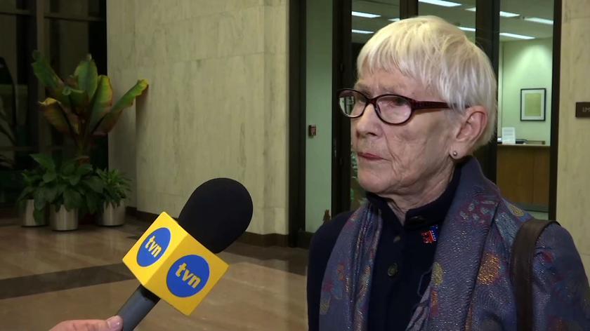 Matka kongresmana Malinowskiego: czuję przede wszystkim wzruszenie