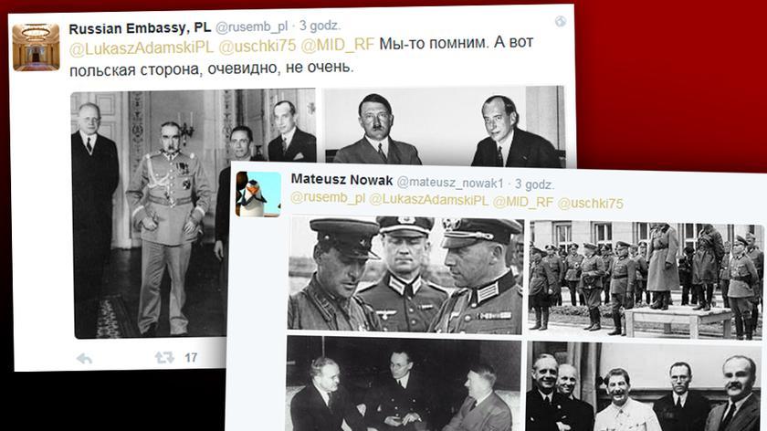 Ambasada Rosji wytyka Polsce Goebbelsa. Mocna odpowiedź internautów