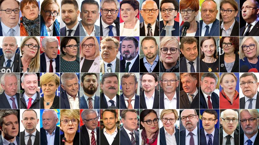 Lista polskich posłów do europarlamentu