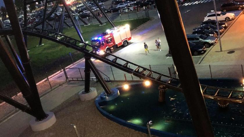 Śmiertelny wypadek w parku rozrywki w Zatorze