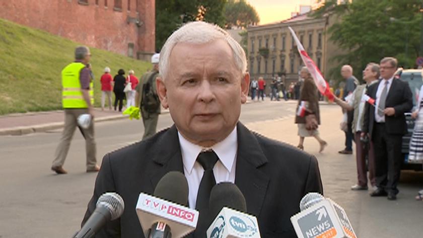 Jarosław Kaczyński o akcji ABW
