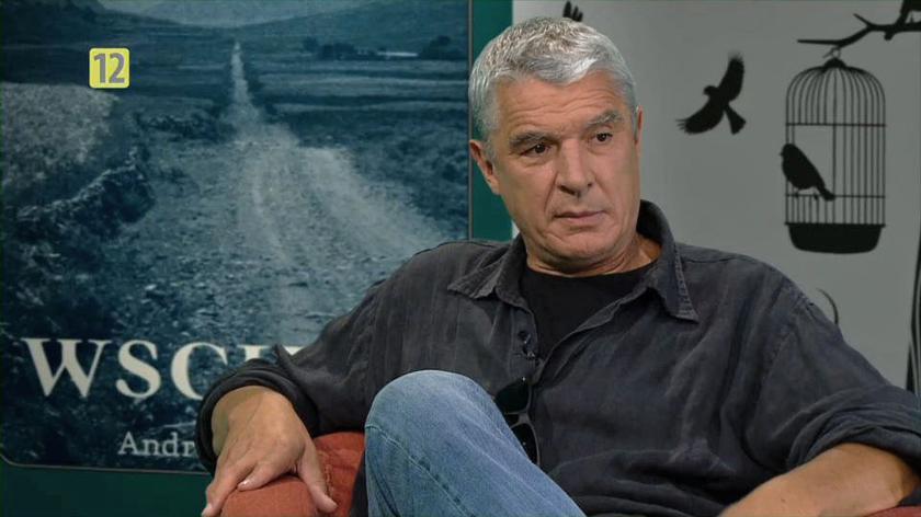 """Andrzej Stasiuk w """"Xięgarni"""": Ja się nie wkurzam, jestem za stary"""