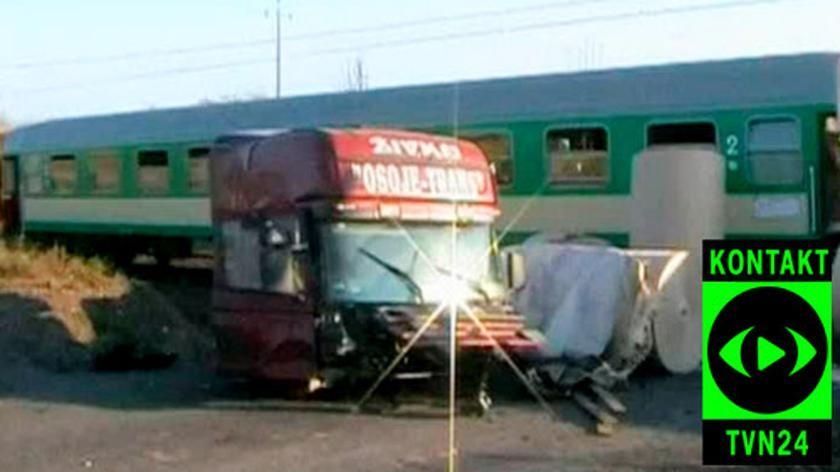 Katastrofa pociągu w miejscowości Poledno (Tomasz Trepczyński)