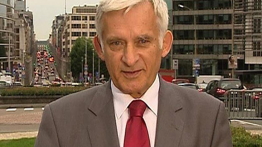 Jerzy Buzek o trzech sankcjach wobec Rosji