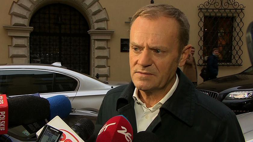 Donald Tusk zabrał głos w sprawie decyzji Komisji Europejskiej