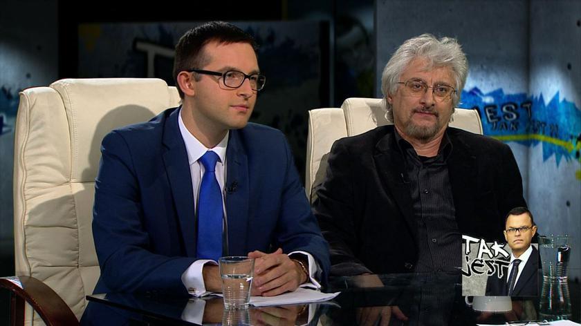 prof. Radosław Markowski i Krzysztof Kosiński w Tak jest