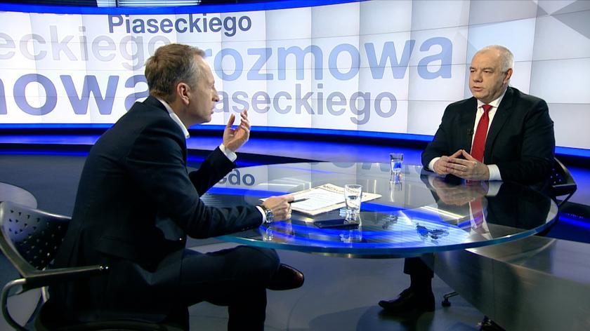 """Jacek Sasin w """"Rozmowie Piaseckiego"""""""