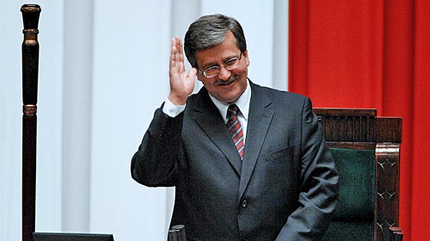 Bronisław Komorowski nowym marszałkiem Sejmu
