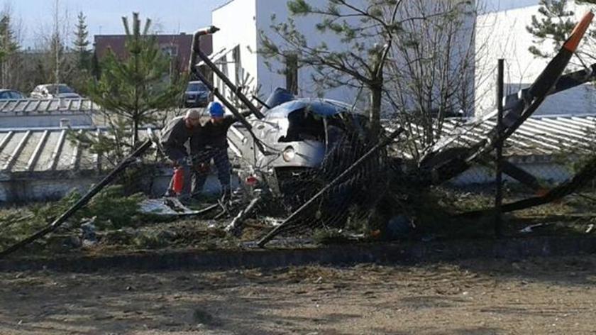 Katastrofa śmigłowca w Suwałkach