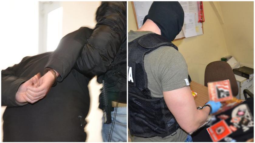 Policja zatrzymała podejrzanych o propagowanie faszyzmu