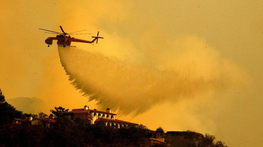 W Kalifornii znowu szaleją pożary