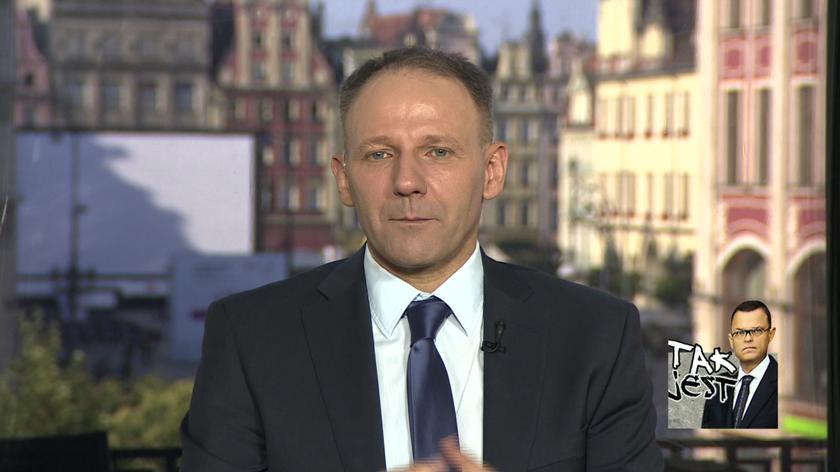 Jacek Protasiewicz w Tak jest