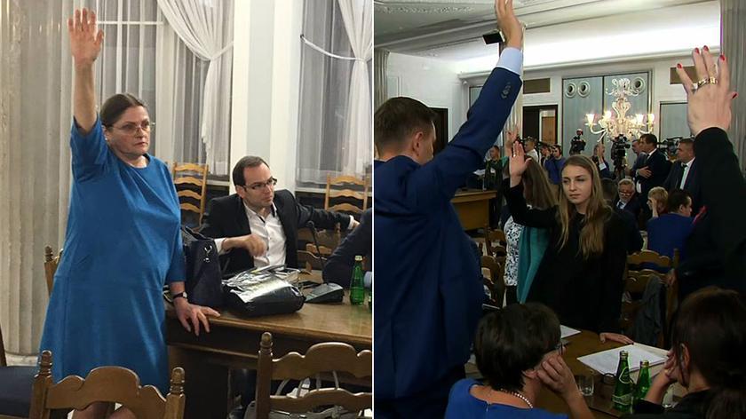Chaos, awantura, głosowanie. Sejmowa komisja za odrzuceniem projektu ws. zakazu aborcji