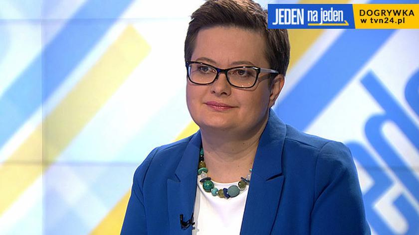 """Katarzyna Lubnauer była gościem """"Jeden na jeden"""""""