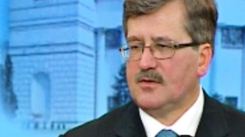 Bronisław Komorowski: Prezydium Sejmu jednogłośnie ws. projektu uchwały o ratyfikacji Traktatu