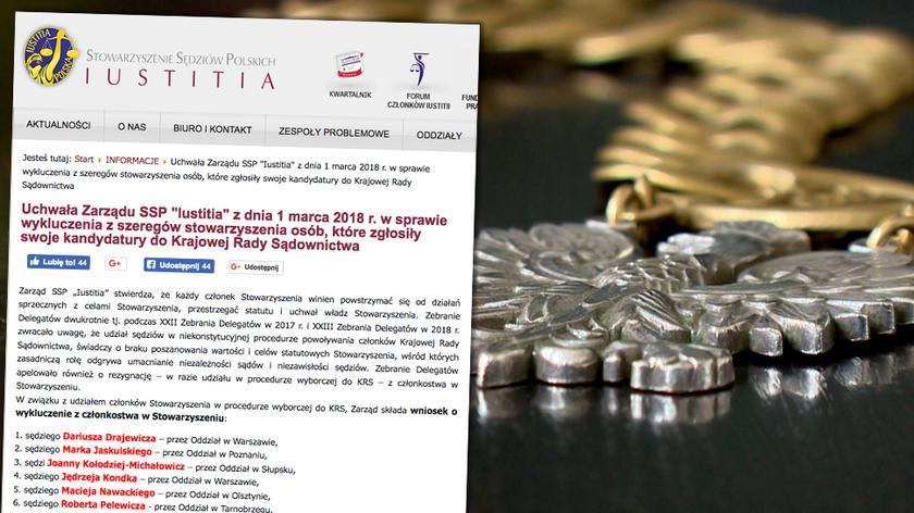 """Prezes Iustitii Krystian Markiewicz o członkach nowej KRS (""""Fakty po Faktach"""" z 26 lutego))"""