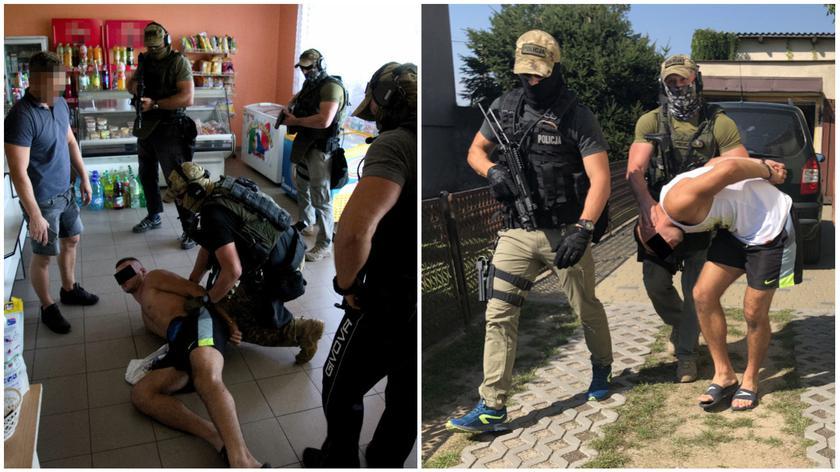 Policja zatrzymała podejrzanych o brutalne porwanie