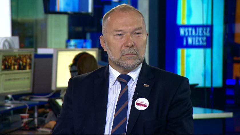 Jacek Michałowski był gościem TVN24