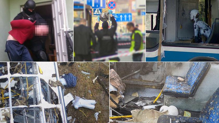 Rusza proces Pawła R. Mężczyzna oskarżony jest o pozostawienie bomby w autobusie