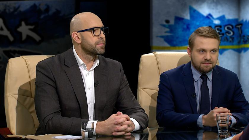 Jakub Rutnicki i Jacek Ozdoba w Tak Jest