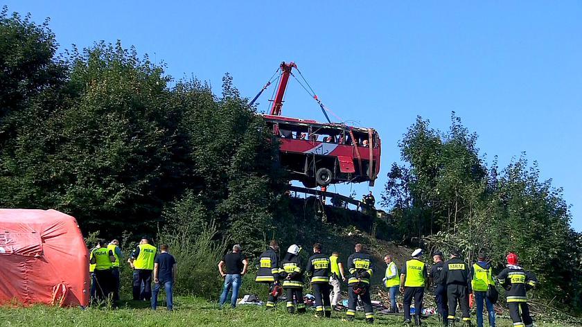 Tragiczny wypadek w Leszczawie Dolnej. Kierowca usłyszał zarzut