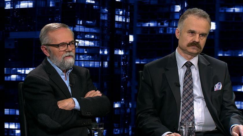 """Waldemar Paruch i Ryszard Bugaj w """"Kropce nad i"""""""