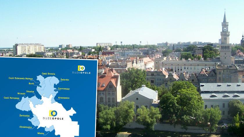 Opole ma być większe. Rząd przyjął rozporządzenie