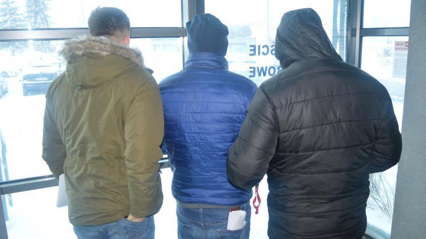Napad na kantor. Podejrzani mężczyźni zostali tymczasowo aresztowani