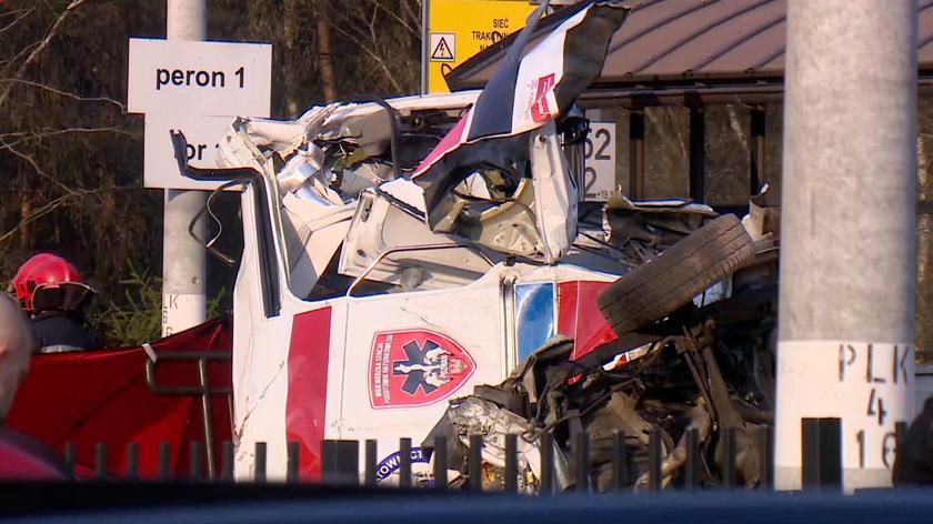 Do wypadku doszło w kwietniu w Puszczykowie (wideo z kwietnia 2019 r.)