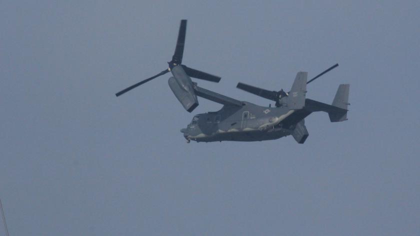 Osprey na lotnisku w Babich Dołach