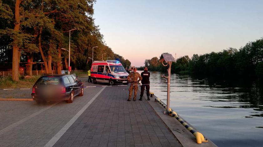 Nie żyje 17-latek, który wpadł do kanału portowego w Darłowie