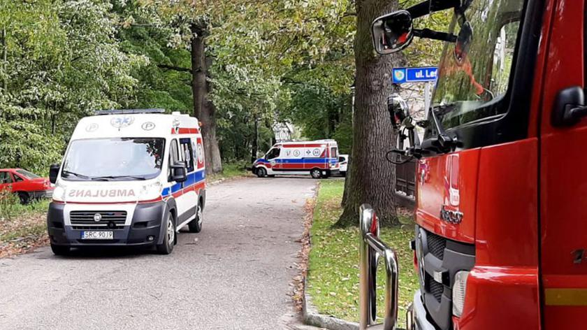 Do eksplozji niewybuchu doszło w Kuźni Raciborskiej