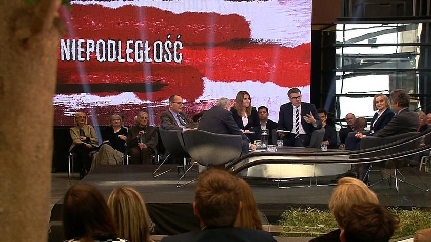 Stulecie odzyskania niepodległości. Debata TVN24 i ECS