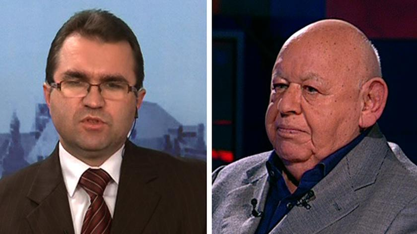 Jerzy Urban i Zbigniew Girzyński spierali się w TVN24 nt. stanu wojennego