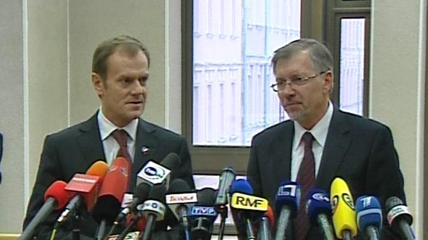 Premier Donald Tusk o stosunkach z prezydentem Lechem Kaczyńskim