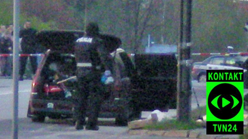 Samochód wypchany bronią (film: Dariusz)