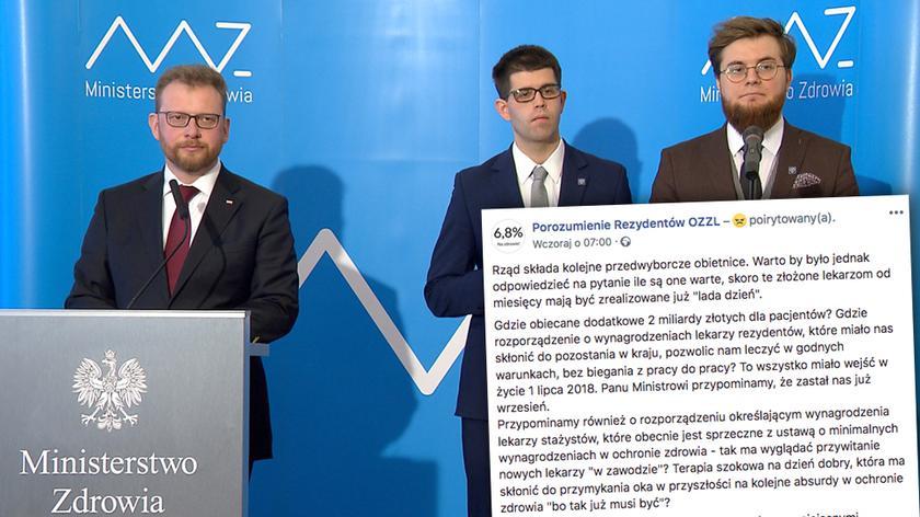 Porozumienie zostało podpisane 8 lutego (nagranie archiwalne)