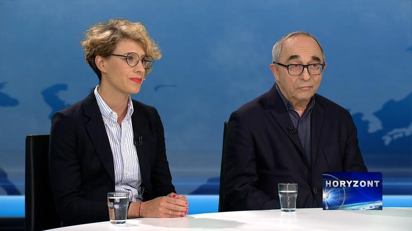 Gośćmi programu byli: Agata Gostyńska, Aleksander Smolar i Marcin Kędzierski