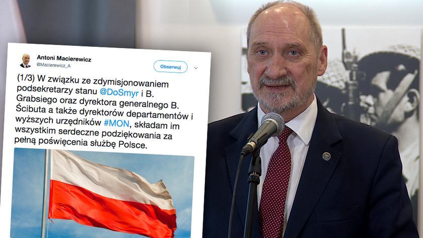 """Kulisy dymisji Macierewicza (Materiał """"Polska i Świat"""", 18.01.18)"""